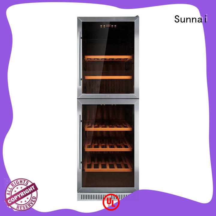 Sunnai online single zone wine fridge compressor for shop