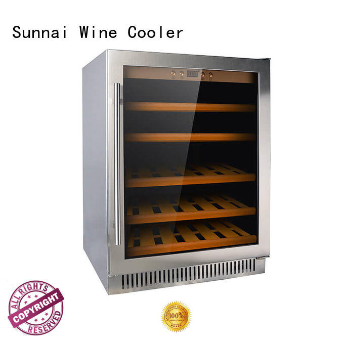 Sunnai compressor compressor wine coolers manufacturer for work station