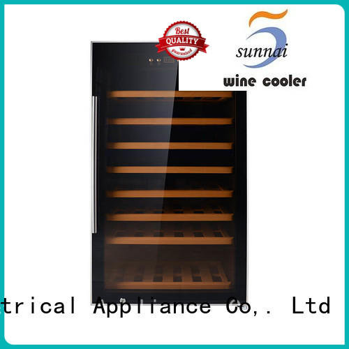 single wine storage fridge shelves wholesale for shop