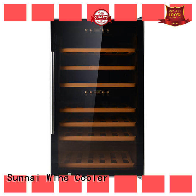 Sunnai fridge freestanding wine cooler series for home