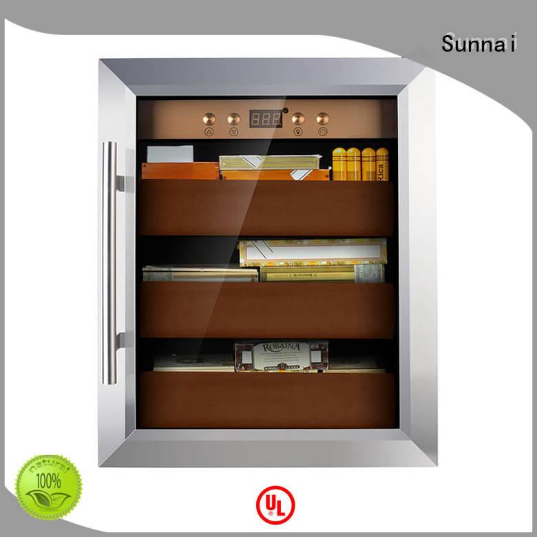 Sunnai Brand cedar wood stogies store cigar cooler