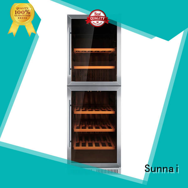 Sunnai compressor single zone wine fridge wholesale for home