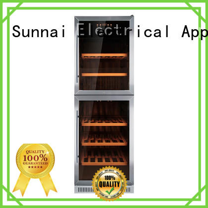 Sunnai single under counter wine fridge series for indoor
