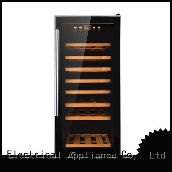 Sunnai professional stainless steel door wine cooler supplier for home