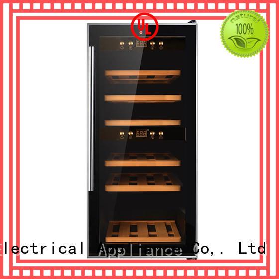 online freestanding wine cooler wood wholesale for shop