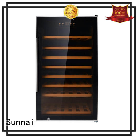 fridge wine storage refrigerator series for home Sunnai