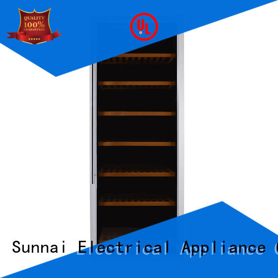 electric wine cooler steel for work station Sunnai