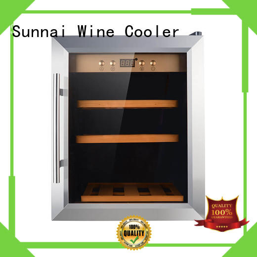 high quality wine cooler refrigerator size wholesale for indoor