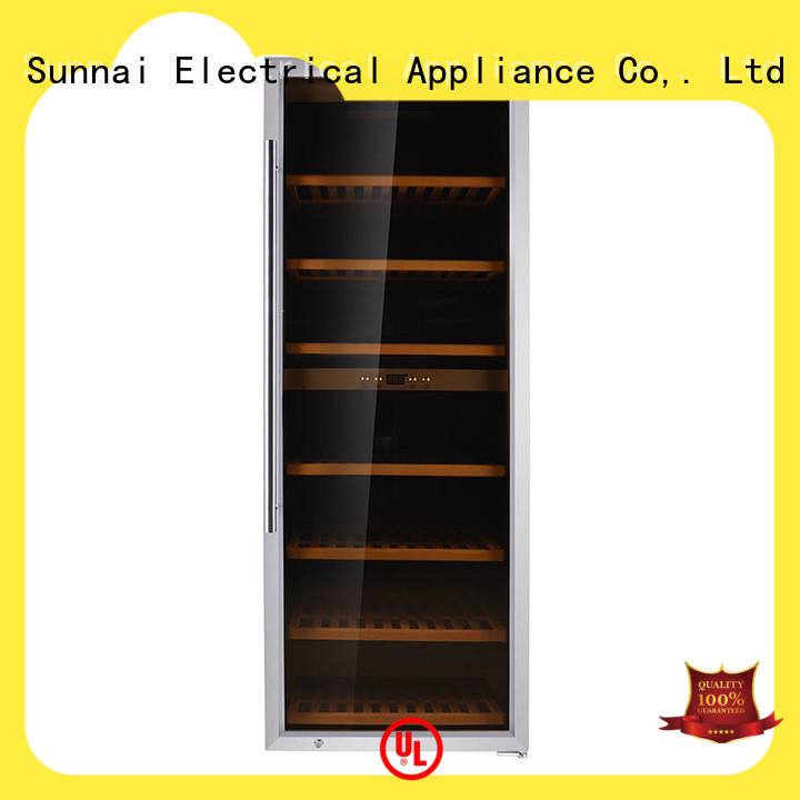Sunnai wine freestanding wine cooler product for home