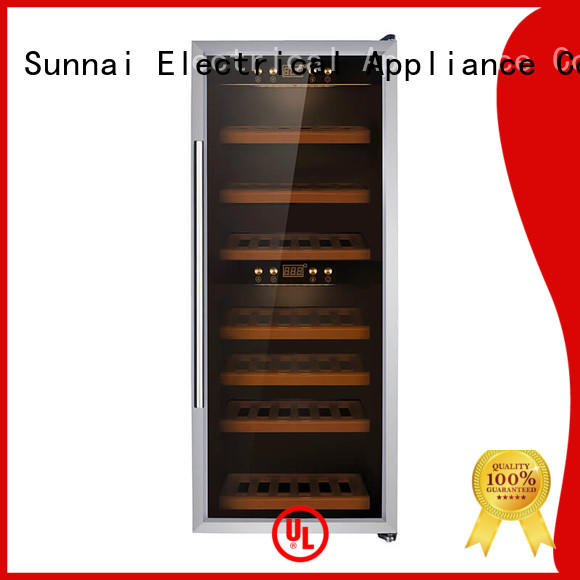 Sunnai black wine cellar cooler wholesale for home