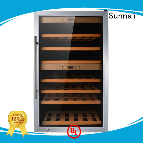 Sunnai fridge wine cellar fridge wholesale for home