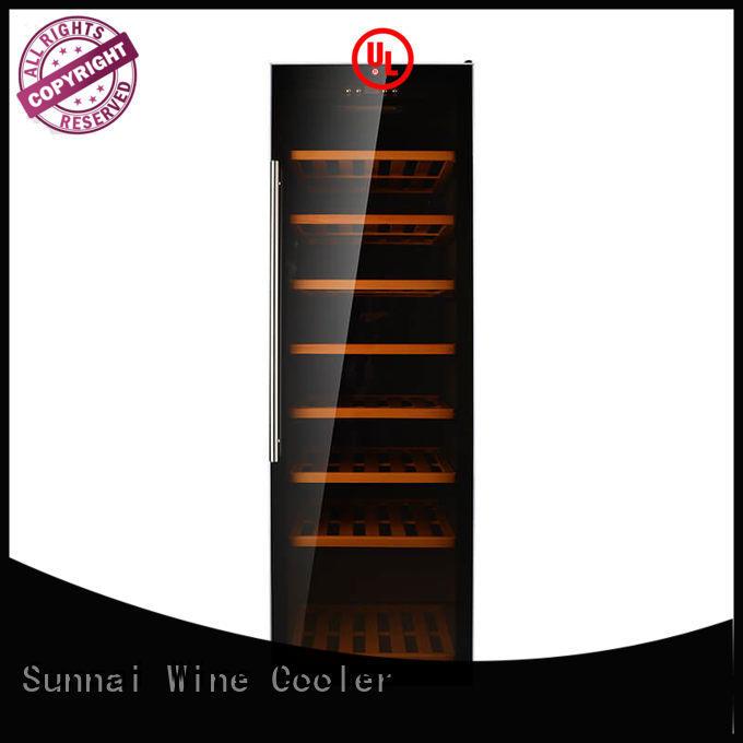 wine stainless steel door wine cooler double product for shop
