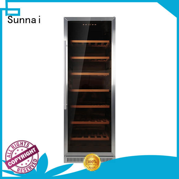 Sunnai high quality under counter wine cooler series for shop