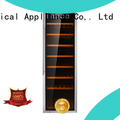 Sunnai high quality dual zone freestanding wine cooler manufacturer for home