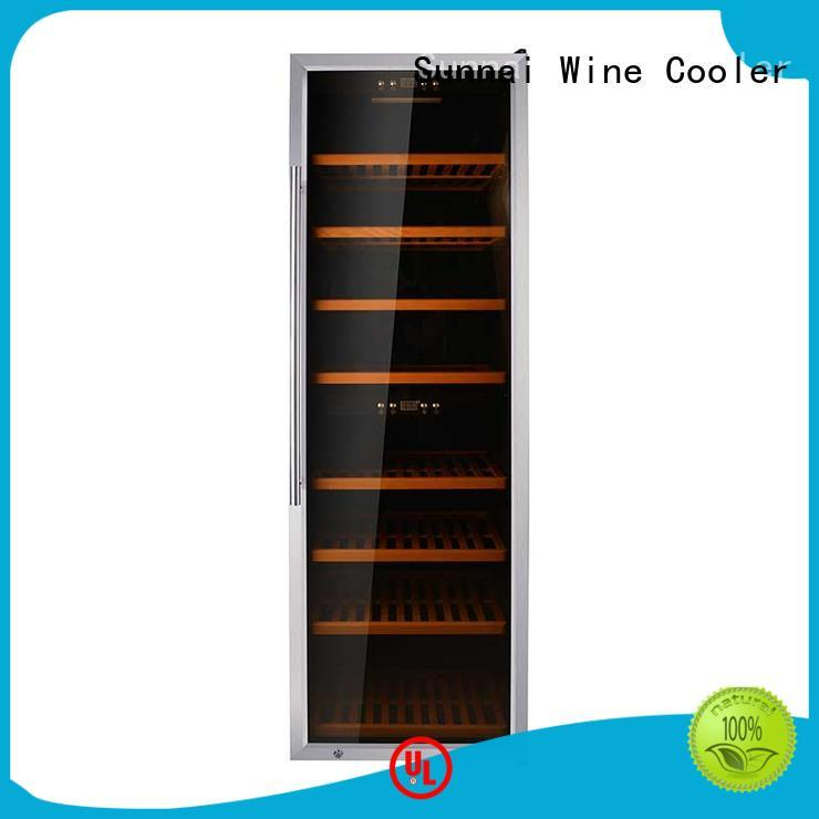 professional wine storage cooler wood supplier for home