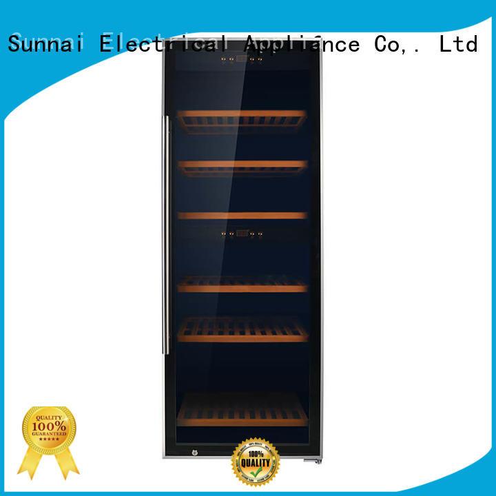 Sunnai single wine cellar fridge product for work station