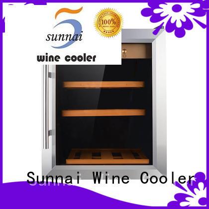 wine wine cellar cooler silver series for indoor