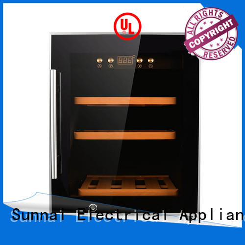 Sunnai professional dual zone wine cooler refrigerator for home