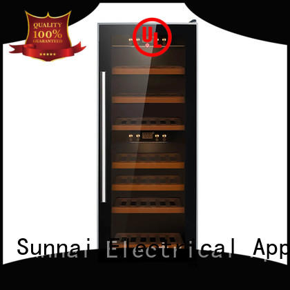 high quality dual zone freestanding wine cooler chiller series for work station