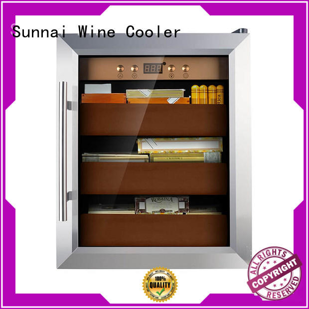 Sunnai quality cigar cooler product for work station