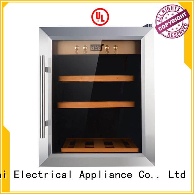 Sunnai dual wine cellar fridge manufacturer for work station