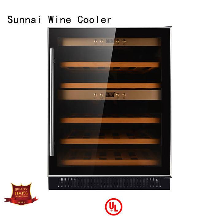 Sunnai single under counter wine fridge supplier for work station