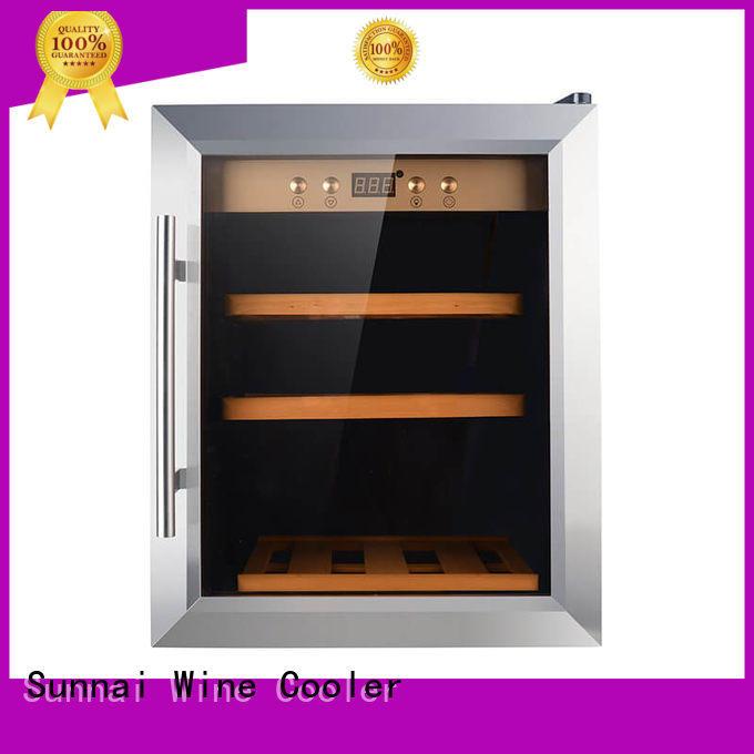 Sunnai professional mini wine cooler smaller for shop