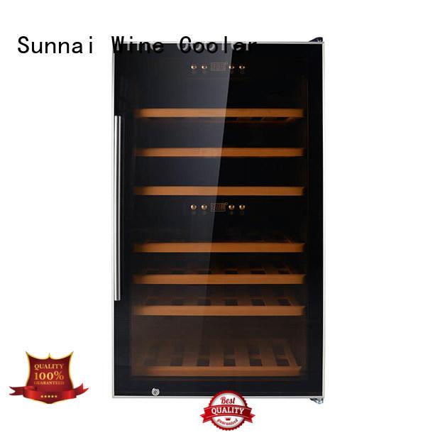 Sunnai stainless wine storage fridge supplier for shop