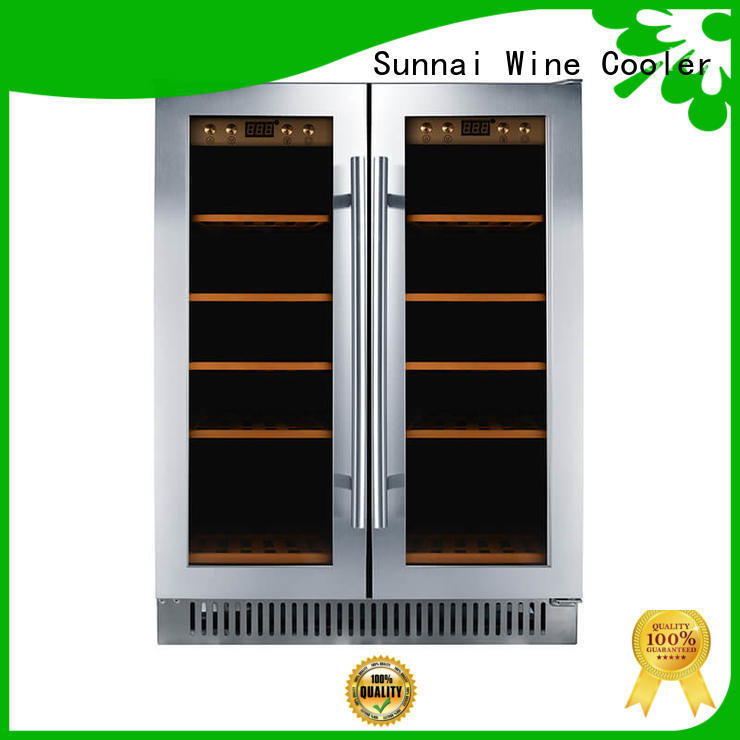 Sunnai wine under counter wine cooler series for shop