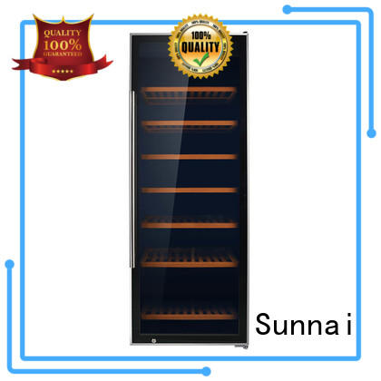 Sunnai stainless wine storage fridge wholesale for home
