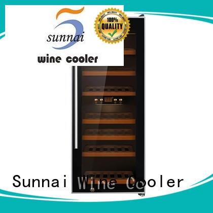Sunnai online free standing wine refrigerator refrigerator for work station