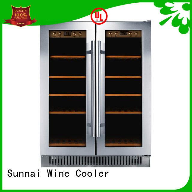 Sunnai door under counter wine refrigerator compressor for shop