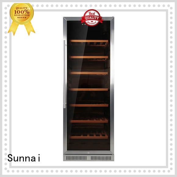 Sunnai high quality under counter wine cooler cooler for home