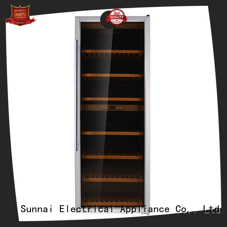 Sunnai panel wine storage refrigerator product for indoor