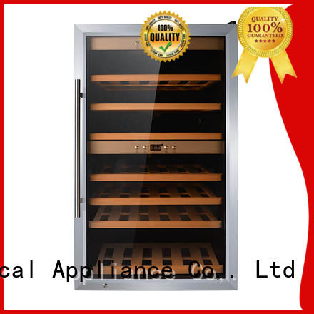 Sunnai high quality dual zone wine cooler manufacturer for shop