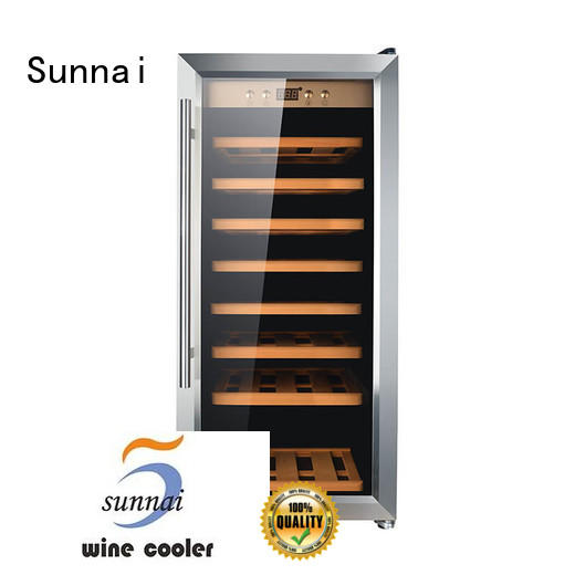 Sunnai cellar best freestanding wine cooler series for shop