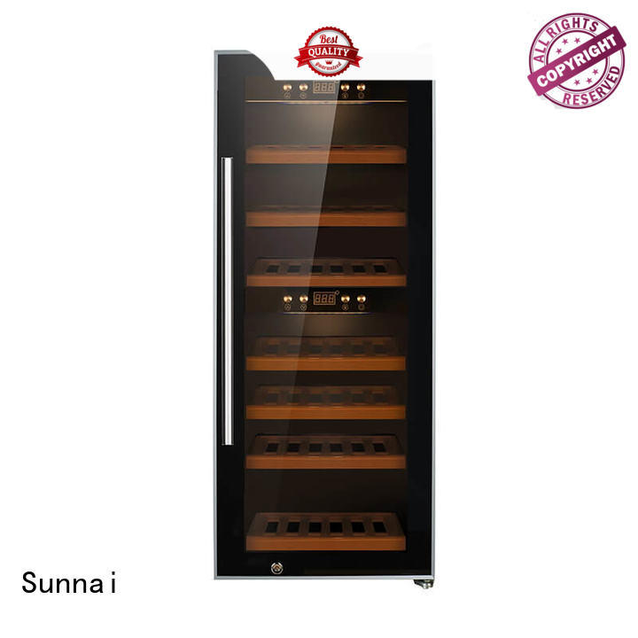 Sunnai safety single zone wine refrigerator product for shop