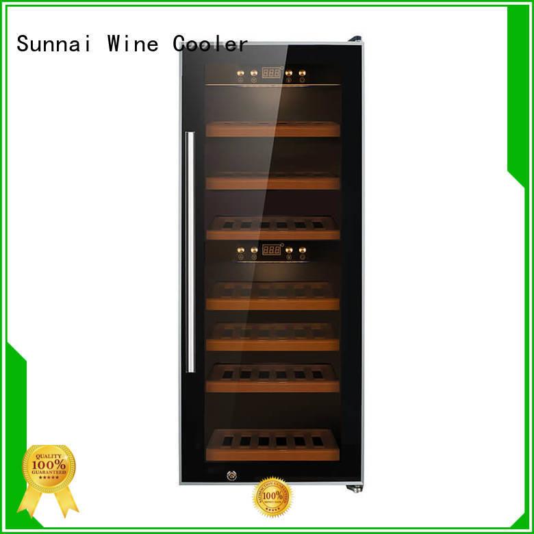 Sunnai zone wine cellar fridge supplier for work station