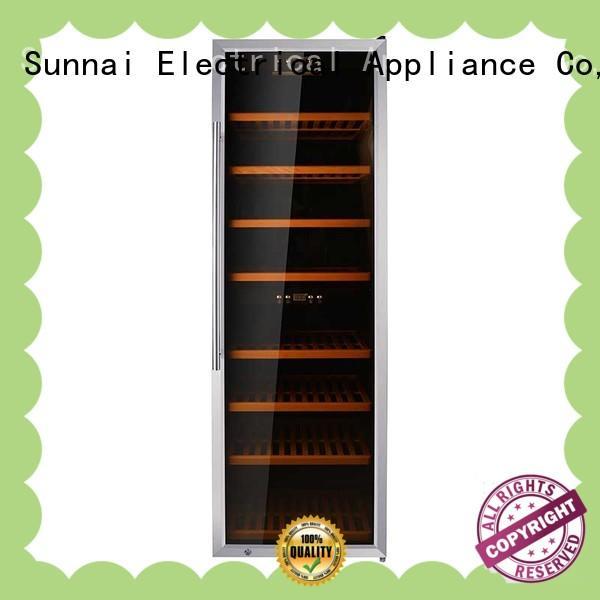 Sunnai panel wine storage fridge product for home