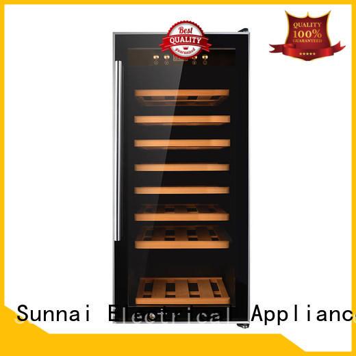 Sunnai single freestanding wine fridge product for indoor