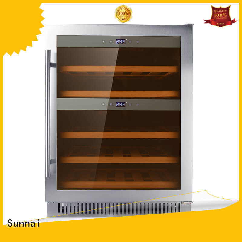safety dual zone undercounter wine cooler single manufacturer for work station