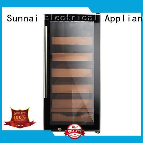 Sunnai sale cigar refrigerator supplier for shop