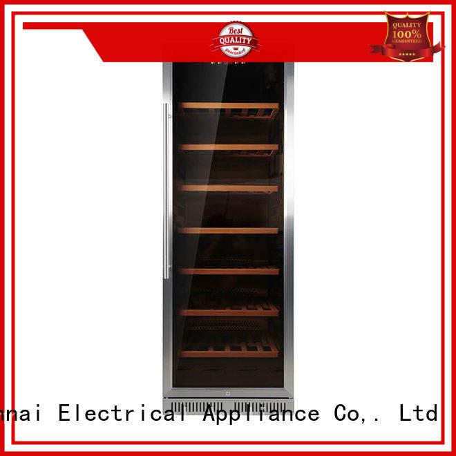 Sunnai online double doors wine cooler series for indoor