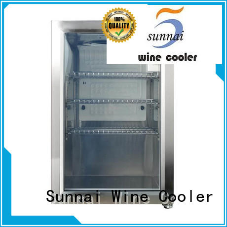 Sunnai hd compressor beverage cooler series for indoor