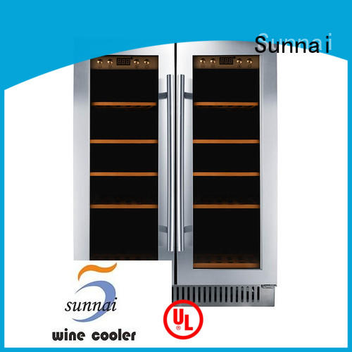 Sunnai panel compressor wine coolers supplier for indoor