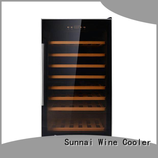 Sunnai fridge wine bottle cooler refrigerator for home