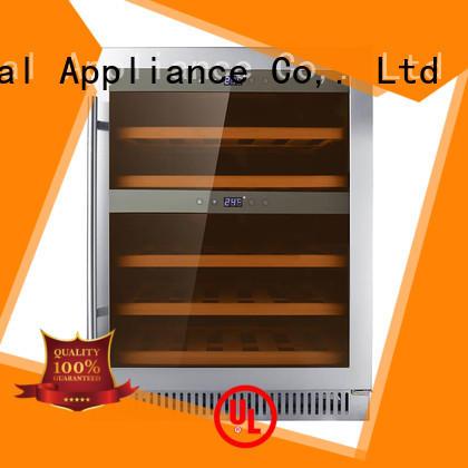 black under counter wine fridge refrigerator compressor for work station