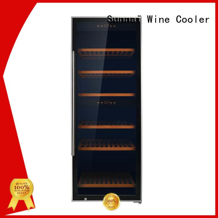 Sunnai single wine cellar cooler manufacturer for shop