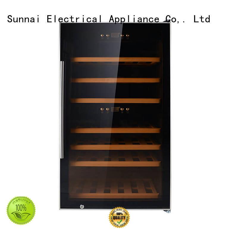Sunnai single wine bottle cooler supplier for work station