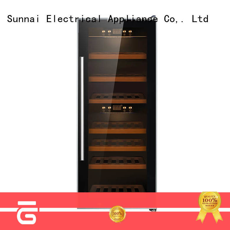 Sunnai single wine storage refrigerator wholesale for home